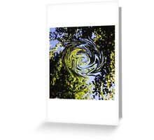 Sky Charybdis  Greeting Card