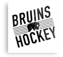 Bruins Hockey Metal Print