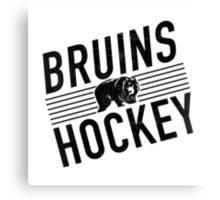 Bruins Hockey Canvas Print
