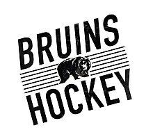 Bruins Hockey Photographic Print