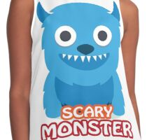 Scary Monster Contrast Tank