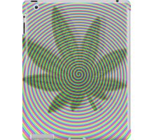 Trippy Colors White iPad Case/Skin