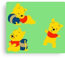 Winnie Bear  Canvas Print