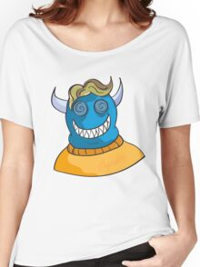 Monster in a sweater Women's Relaxed Fit T-Shirt