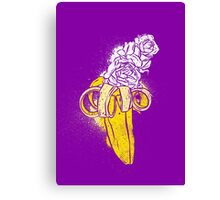 floral banana Canvas Print