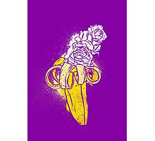 floral banana Photographic Print