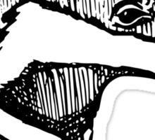 Bold Badger  Sticker