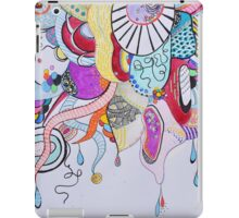 Workings of a chaotic mind iPad Case/Skin