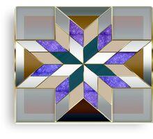Metallized elegant and original design Canvas Print