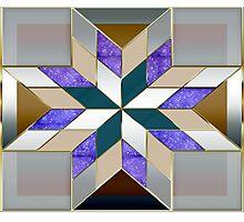 Metallized elegant and original design Photographic Print