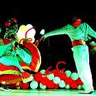 Cali Dancers In Andalucia, Colombia III by Al Bourassa
