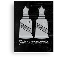 Rulers Once More Canvas Print