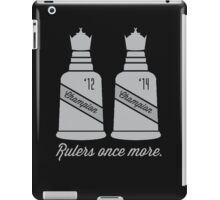 Rulers Once More iPad Case/Skin