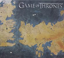 Westeros & Essos Map Game of Thrones by MarioGirl64