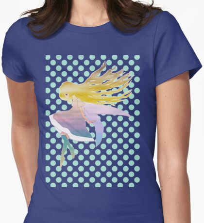 Child Fairy Womens Fitted T-Shirt