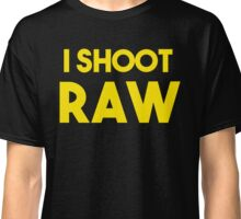 I SHOOT RAW T-SHIRT AND STICKER Classic T-Shirt