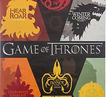 House Sigils Game of Thrones by MarioGirl64