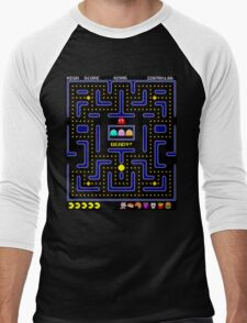 Pac-Man Men's Baseball ¾ T-Shirt