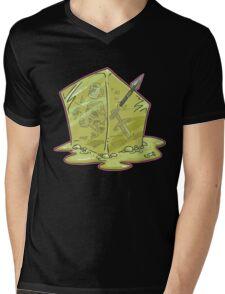 Gelatinous Cube Mens V-Neck T-Shirt