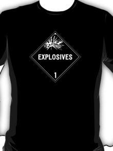 HAZMAT Class 1: Explosives T-Shirt