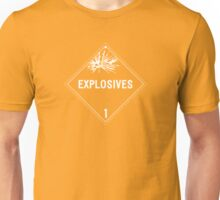 HAZMAT Class 1: Explosives Unisex T-Shirt