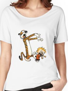 zombie calvin hobbes Women's Relaxed Fit T-Shirt