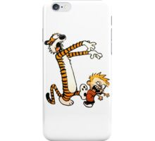 zombie calvin hobbes iPhone Case/Skin