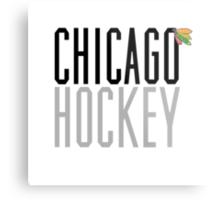Chicago Hockey Metal Print