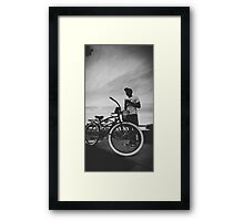 Cruise Framed Print