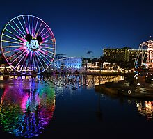 Disney's California Adventure by Cr33g