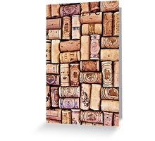 Wine Is Life Greeting Card