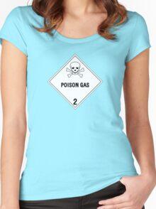 HAZMAT Class 2: Gases Women's Fitted Scoop T-Shirt