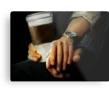 coffee and comfort Metal Print