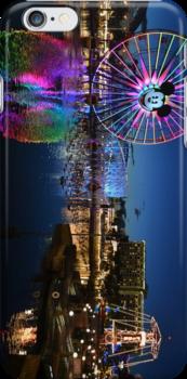 Disney's California Adventure Phone Case by Cr33g