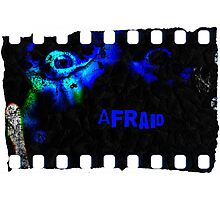 Afraid Photographic Print