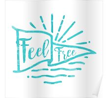 Feel Free Poster