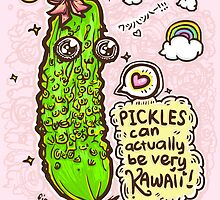 Pickles Can Be Very Kawaii! 4 by fionfairyland