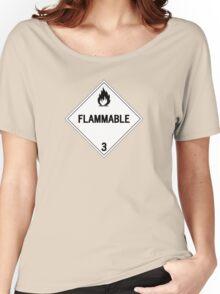 HAZMAT Class 3: Flammable Women's Relaxed Fit T-Shirt