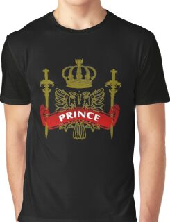The Prince Coat-of-Arms Graphic T-Shirt