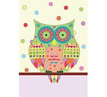 Mr. Owl Photographic Print