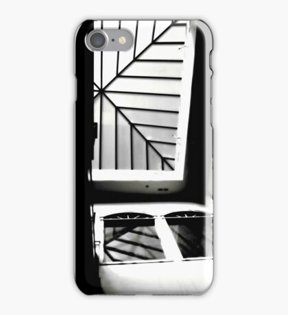 Sky Light Silhouette iPhone Case/Skin