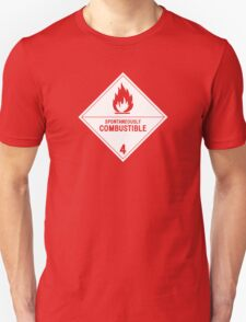 HAZMAT 4.2 Spontaneously Combustible T-Shirt