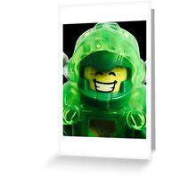 Lego Aaron minifigure Greeting Card