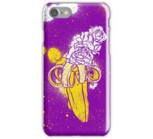 floral banana iPhone Case/Skin