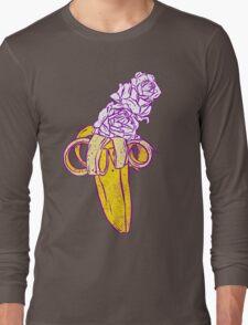 floral banana Long Sleeve T-Shirt