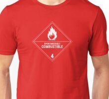 HAZMAT 4.2 Spontaneously Combustible Unisex T-Shirt