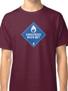 HAZMAT 4.3 Dangerous when Wet Classic T-Shirt
