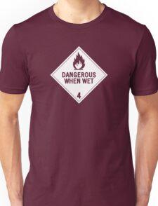 HAZMAT 4.3 Dangerous when Wet Unisex T-Shirt