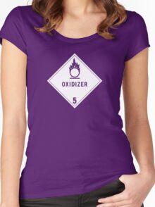HAZMAT Class 5.1: Oxidizing Agent Women's Fitted Scoop T-Shirt