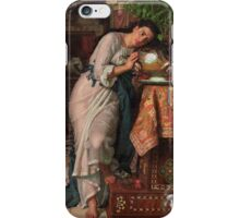 William Holman Hunt - Isabella And The Pot Of Basil 1867 iPhone Case/Skin